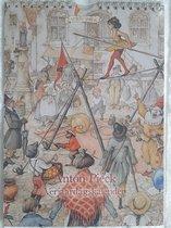Anton Pieck verjaardagskalender Circus