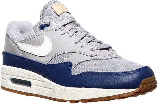 | Nike Air Max 1 Blauw Grijs Heren Sneakers