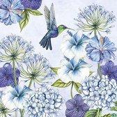 Ambiente papieren servetten  Hummingbird