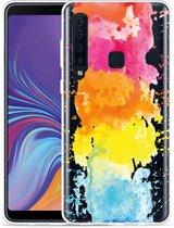 Galaxy A9 2018 Hoesje Color Splatters