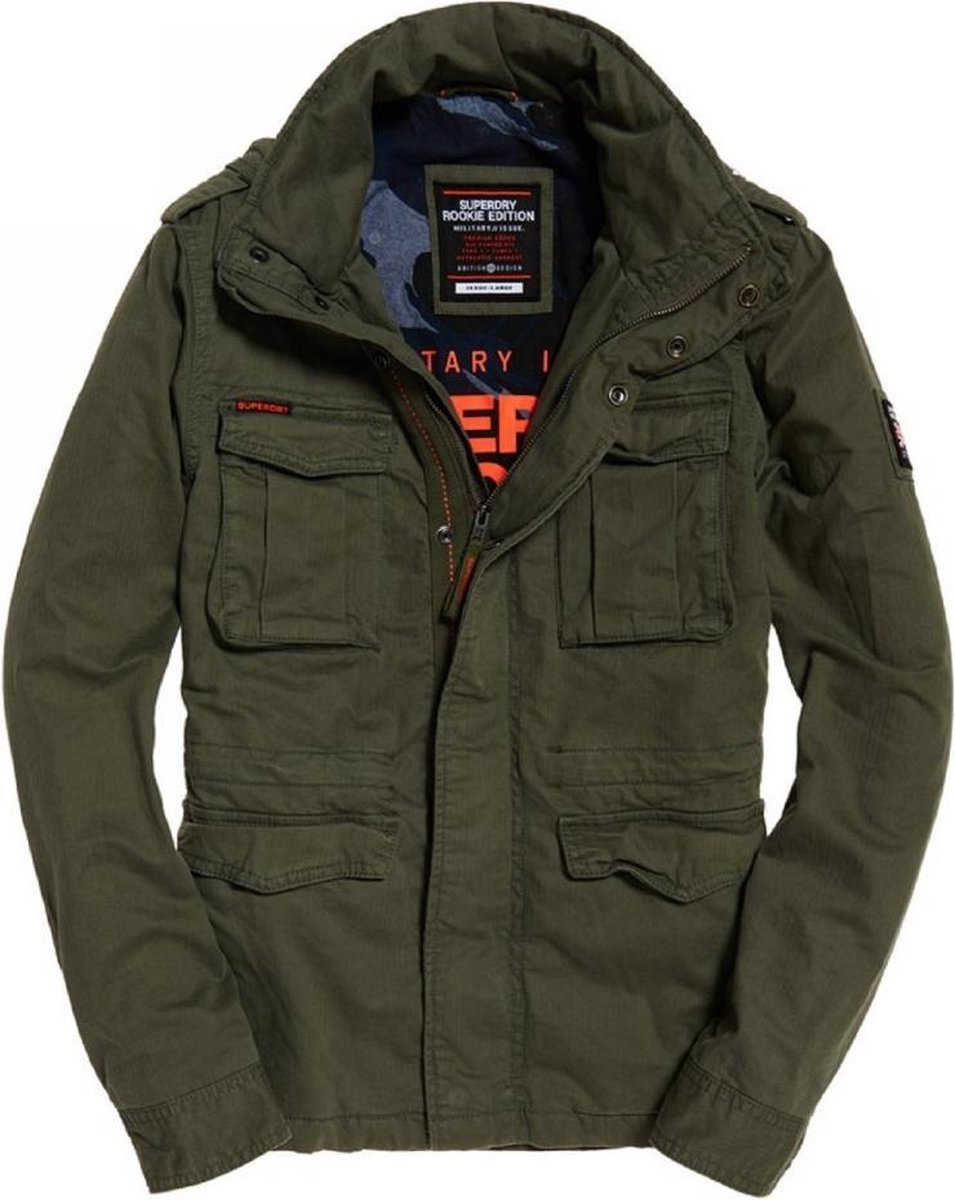 Superdry Black Label Rookie Classic jas Jacks en jassen