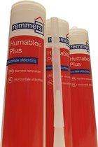 5X HUMABLOC PLUS injectiegel tegen opstijgend vocht 310ml
