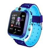 Optible Babino - Kinder Horloge - LBS/GPS Tracker - Telefoonfunctie - Met camera - IP67 Waterbestendig - SOS functie - Find my Kids NL App - Blauw