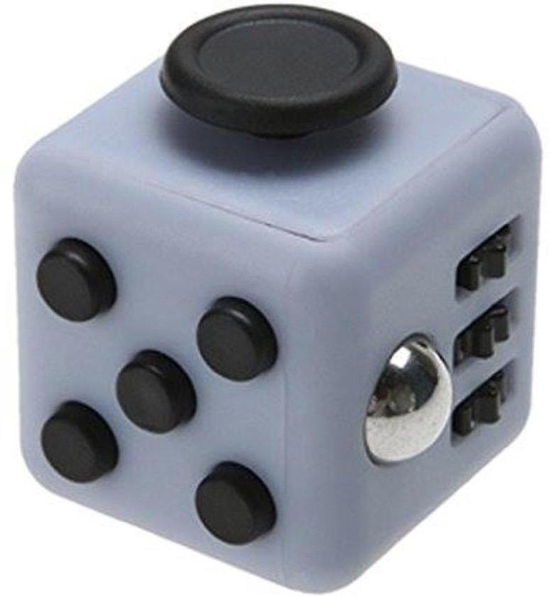 Fidget Cube - Stressbestendig - Helpt met het focussen. GRIJS/ZWART