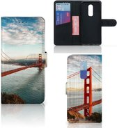 OnePlus 6 Flip Cover Golden Gate Bridge