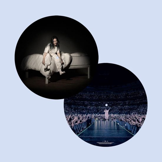 CD cover van When We All Fall Asleep. Where Do We Go? (Tour Edition Picture Disc) van Billie Eilish