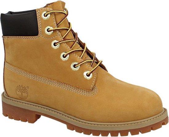 Timberland Premium 6 inch Boot Laarzen Geel Maat 35.5