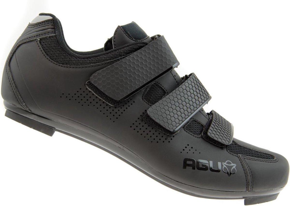 AGU R500 Micro fietsschoenen Fietsschoenen - Maat 45 - Mannen - zwart - AGU