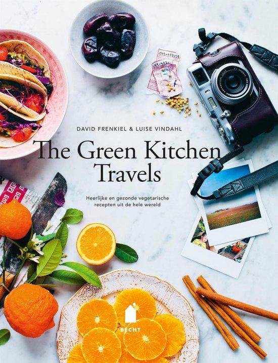 Boek cover The green kitchen travels van David Frenkiel (Hardcover)