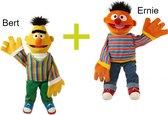 Living Puppets handpoppen Bert + Ernie Sesamstraat 65cm