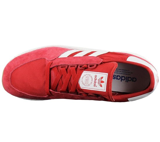 bol.com | adidas Originals Forest Grove Heren Rood Sneakers ...