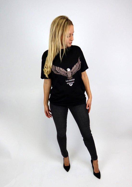 Merkloos / Sans marque Dames T-shirt Maat S/M