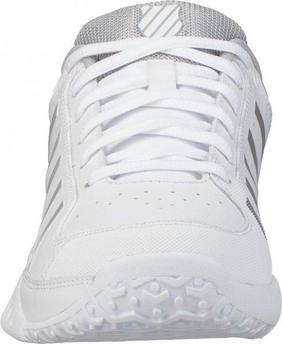 K•Swiss RECEIVER IV OMNI - WHITE/HIGHRISE - Tennisschoenen