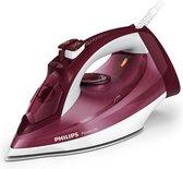 Philips PowerLife GC2997/40 strijkijzer Stoomstrijkijzer SteamGlide-zoolplaat Paars, Wit 2400 W