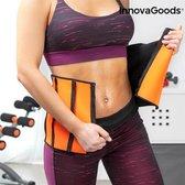 Innovagoods afslankgordel voor doeltreffend vermageren- zweetband  voor vetverbranding - saunaband - afslankband - fitness buiktrainer- sauna sweat belt - waist trimmer