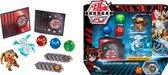 Bakugan Battle Pack met 5 Bakugan (Ultra Aurelus Lupitheon, Ultra Haos Vicerox)