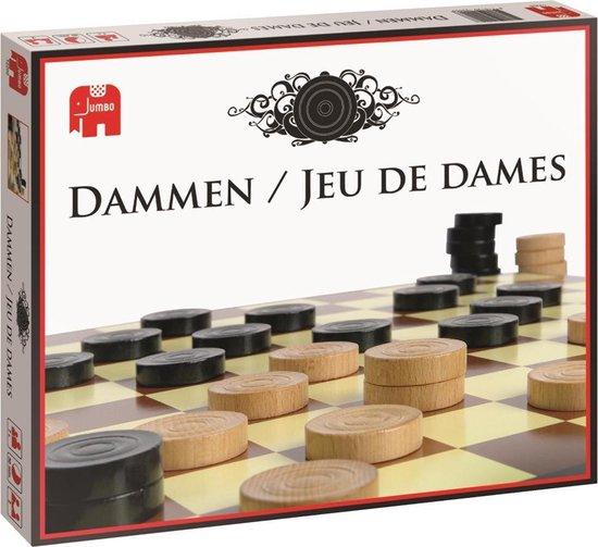 Jumbo Damspel - Dammen