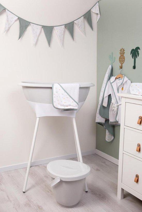 Product: LUMA Bad- en verzorgingsset - Light Grey, van het merk LUMA Babycare