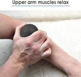 Massage Ball | Stress Ball | Fitness Ball | Rust Ball | Massage Ball Lightweight Black Fitness Lacrosse Ball Body Sport | Trendy Sport Massageballen | Trigger point therapie ballen