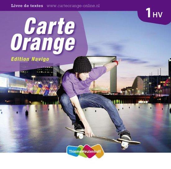 Boek cover Carte Orange 1 HV Tekstboek van Marjo Knop (Hardcover)