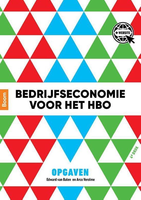 Bedrijfseconomie voor het hbo - Edward van Balen |