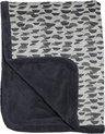 Snoozebaby wieg deken - 75x100cm - T.O.G. 2.0 - Frost Grey grijs