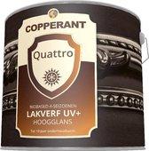 Quattro Lakverf Hoogglans UV+ Verpakking: 2,5 liter