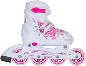 ROCES Inlineskates JOKEY 3.0 GIRL - Wit/Roze 26-29