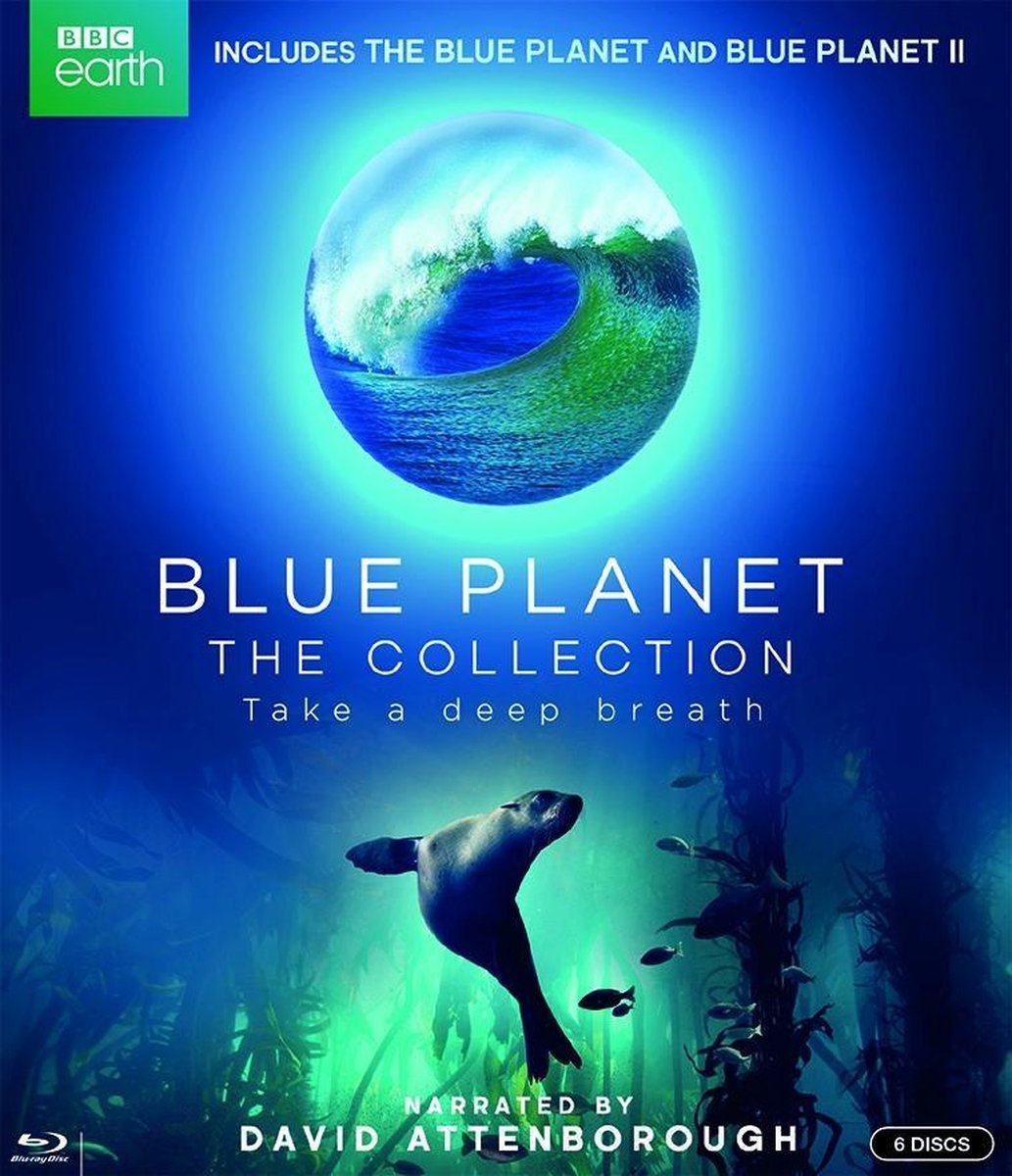 Blue Planet The Collection I & II (Blu-ray) - Documentary/Bbc Earth