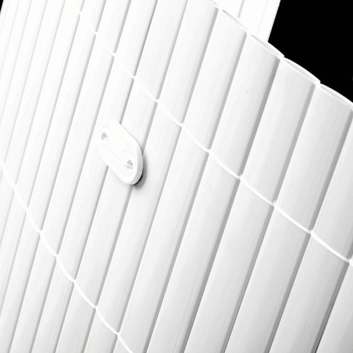 Intergard Tuinscherm tuinafscheiding kunststof PVC wit 150x500cm
