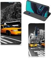 OPPO Reno2 Book Cover New York Taxi