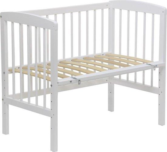 Co-sleeper of Tweelingledikant Wit - 90x50, babybed, wiegje