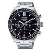 Pulsar PT3609X1 horloge heren - zilver - edelstaal