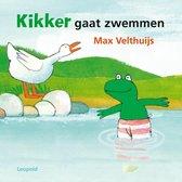 Leopold Kartonboek Kikker Gaat Zwemmen