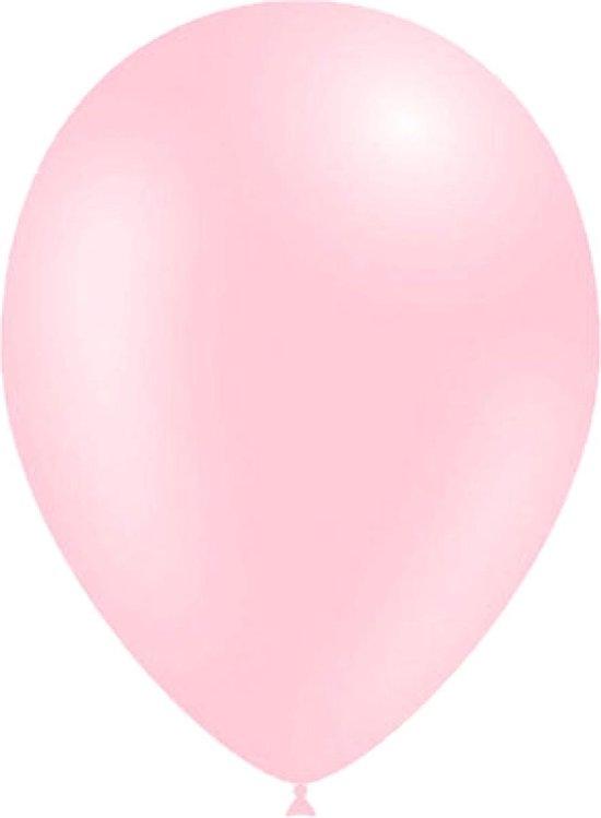 Belbal -  Ballonnen - Zachtroze - 30cm - 100st.