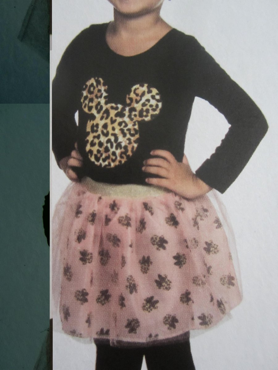 Minnie Mouse Rok maat 128 - 134