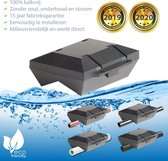 ✅ Waterontharder Black Edition Uni-Pro - voor alle waterleidingen (magneet waterleiding) ☆ Water ontharder | Antikalk | Kalkaanslag | Water ontkalker | Waterverzachter | Magnetisch | Waterontkalker | > 20.000 Gauss  / 20 Tesla