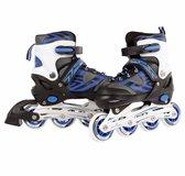 Inline skates: blauw/zwart maat 31/34
