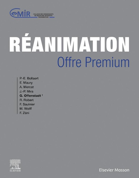 Boek cover Réanimation van Collège Des Enseignants de Méd (Onbekend)