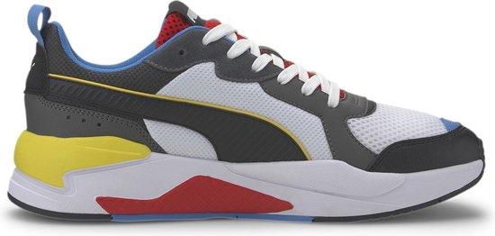 Puma Sneakers - Maat 42.5 - Unisex - zwart/wit/rood/blauw/geel