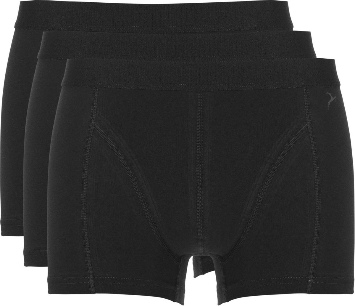 Ten Cate Shorty 3Pack Basic Zwart - Maat M