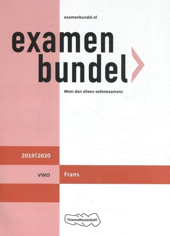 Examenbundel vwo Frans 2019/2020 - M. Lubsen |