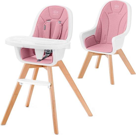 Product: Kinderkraft Kinderstoel 2 in 1 Tixi Pink, van het merk KinderKraft