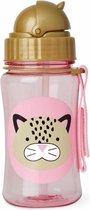 Skip Hop Zoo - Drinkfles met rietje - Luipaard