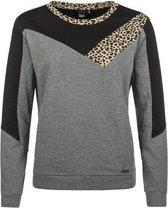 PHI Dames Sweater - Dark Grey Melee - Maat M/38