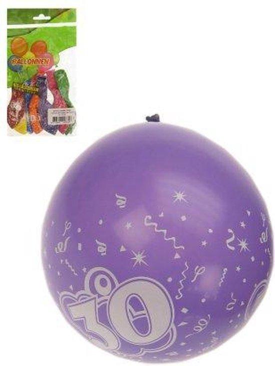 Ballonnen verjaardag 30 jaar