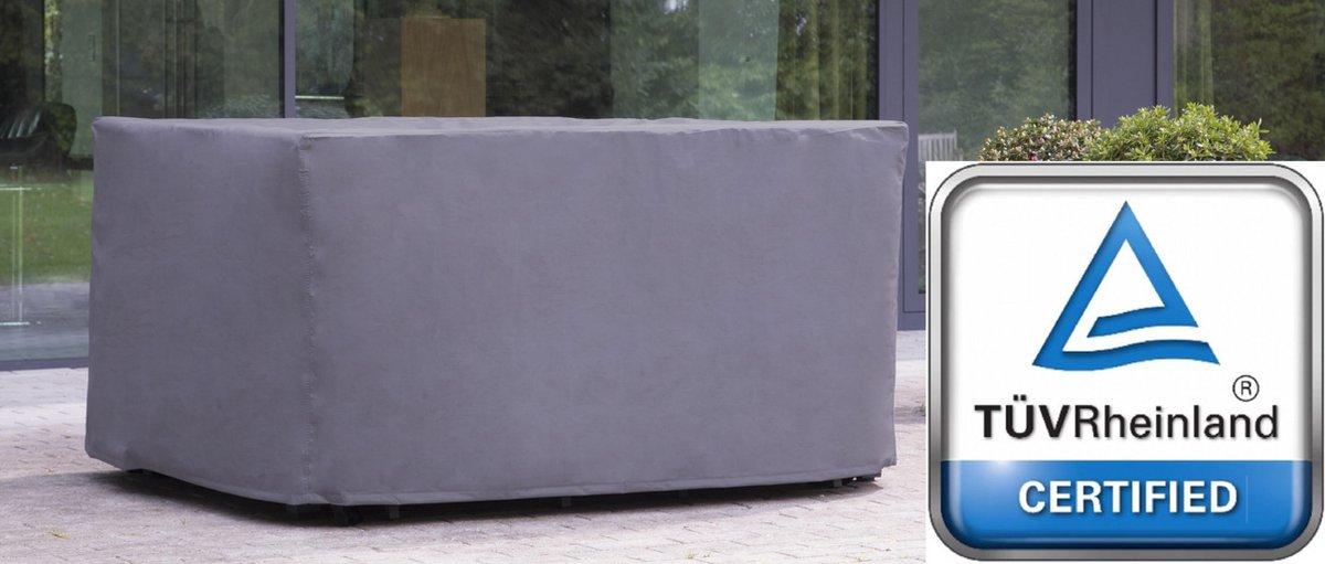 ATLANTIS | Weersbestendige Beschermhoes Tuintafel / Tuinset | 145 x 105 x 75 cm | Premium | Waterproof | TÜV Rheinland Gecertificeerd | Hoes voor Tuin