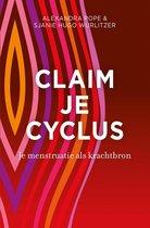 Boek cover Claim je cyclus van Alexandra Pope (Onbekend)