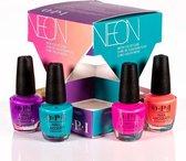 O.P.I Neon Collection Mini Nailpolish Cadeauset - 4 x 3.75 ml