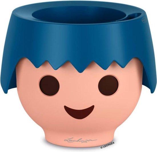 Lechuza - Playmobil - OJO oceaanblauw ALL-IN-ONE - educatieve bloempot